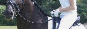 Amazones succesvol met hun paarden